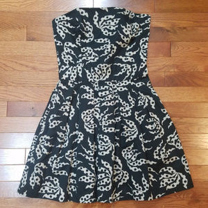 French Connection Strapless Dress Pockets